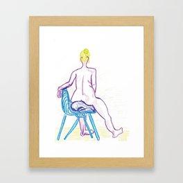 Vanity Framed Art Print
