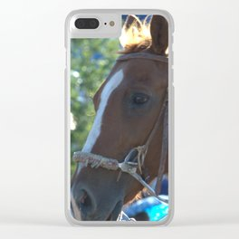 Horse of course Clear iPhone Case