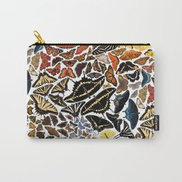 Butterflies of North America Pattern Carry-All Pouch