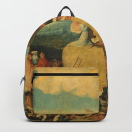 The Haywain Triptych - Hieronymus Bosch Backpack