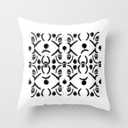 Skull_pattern Throw Pillow