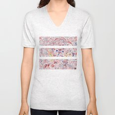 ABSTRACT 4 Unisex V-Neck