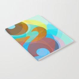 Geometric Ampersand Rainbow Notebook