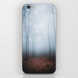 Blue Fog iPhone Skin