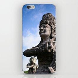 Balinese Statue iPhone Skin