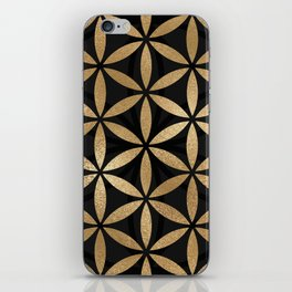 Flower Of Life - Sacred Geometry iPhone Skin