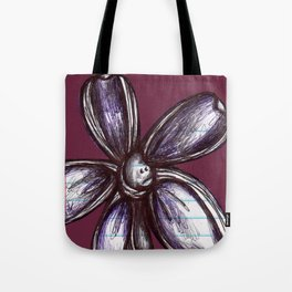 """Bound up by Bandages"" Flowerkid Tote Bag"