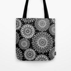 Mandala Negative Tote Bag