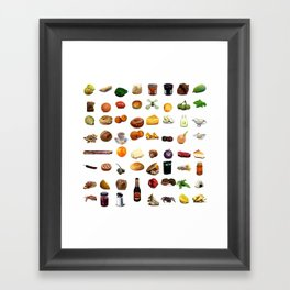 Select Oobites From Year Two, Small Framed Art Print