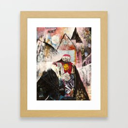 Intention Gets Lost In The Details Framed Art Print