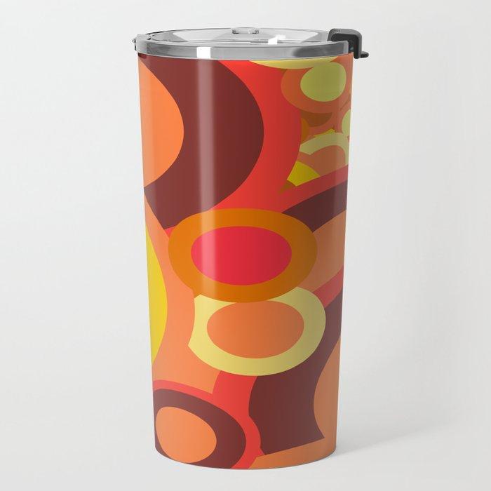 Abstract Collection Of Circles Travel Mug