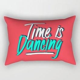 Time is Dancing Rectangular Pillow
