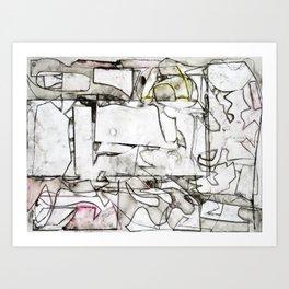 Compo 2 Art Print