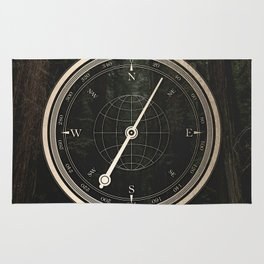 Gold Compass - The Road to Wisdom Rug
