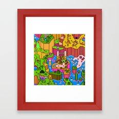 SMW World Framed Art Print