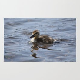 Swimming Duckling Rug