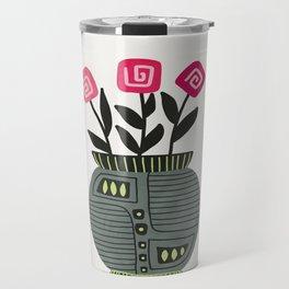 Floral vibes XI Travel Mug