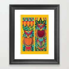 Owl's Framed Art Print