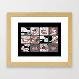 Dentistry horizontal Framed Art Print