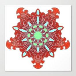 Tibetan Filigree v108 Canvas Print