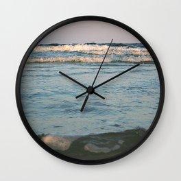 Ceaseless Waves Wall Clock