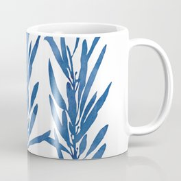 Eucalyptus Branches Blue Coffee Mug