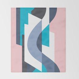 SUISSE - Art Deco Modern: MIAMI DECO Throw Blanket