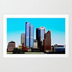 Pittsburgh Morning Art Print
