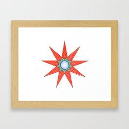 GRANDMOTHER STAR  Framed Art Print