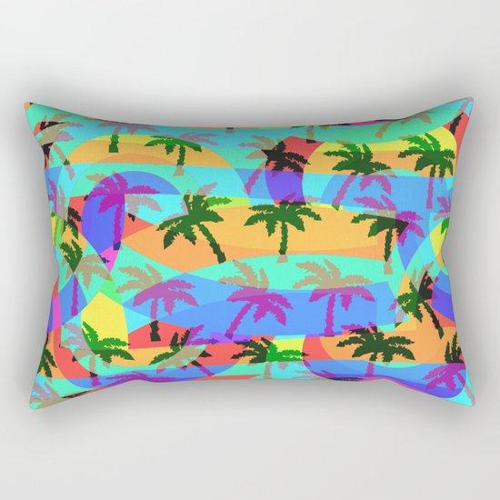 Tropical euphoria Rectangular Pillow