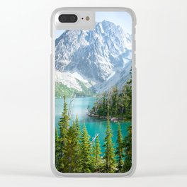 Lake Colchuck Clear iPhone Case