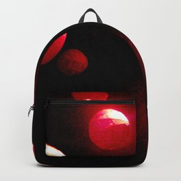 Crimson Orbs Backpack
