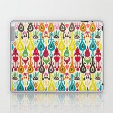 ivory love ikat Laptop & iPad Skin