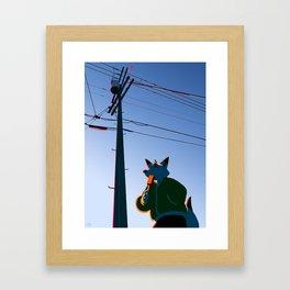Creamsicle Framed Art Print