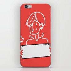 Blank Space* iPhone & iPod Skin