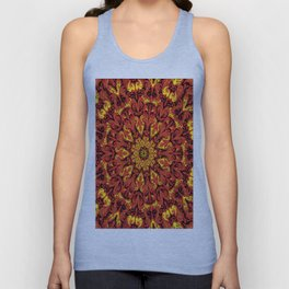 ' Fiery Dimenzion ' By: Matt Crispell Unisex Tank Top