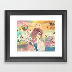 Second Framed Art Print