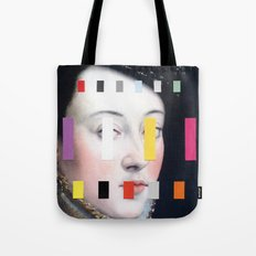 Portrait With A Spectrum 4 Tote Bag