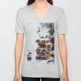 Christmas bakery Unisex V-Neck