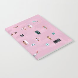 Lay down Notebook