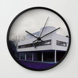 Villa Savoye , Le Corbusier Wall Clock