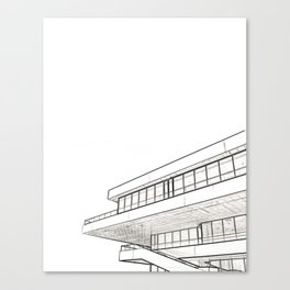 Architecture: Veles e Vents Canvas Print