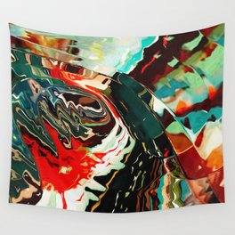 Colorful water reflection of Wall Tapestry