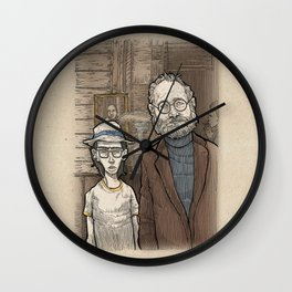 Raleigh is shocked Wall Clock