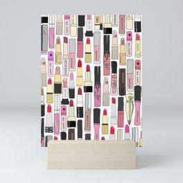 Lipstick Decoys Mini Art Print