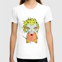thundercats T-shirts featuring A Girl - Cheetara (Thundercats) by Christophe Chiozzi