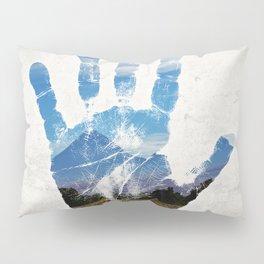 Earth Print Pillow Sham