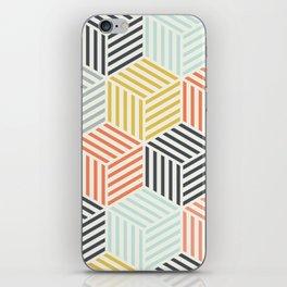 Colorful Geometric Pattern iPhone Skin