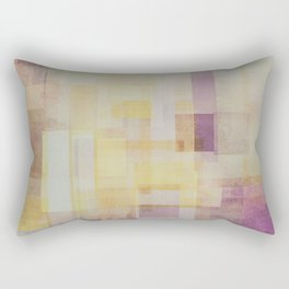 Abstract Geometry No. 24 Rectangular Pillow