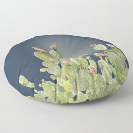 In The Moonlight - Cactus Floor Pillow